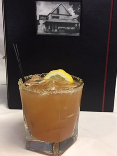 Peach Bourbon Smash from Ruth's Chris