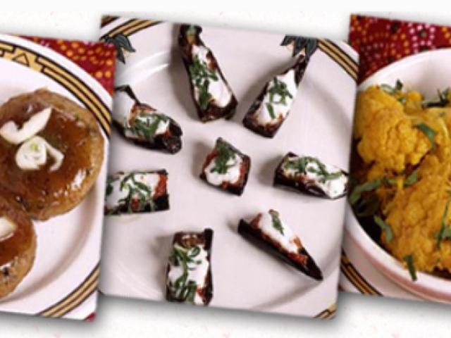 Delicacies from South Asia