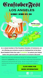 Craftoberfest at the Rose Bowl