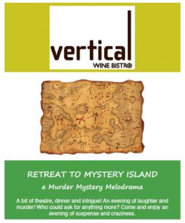 Vertical Wine Bistro mystery night April 28th