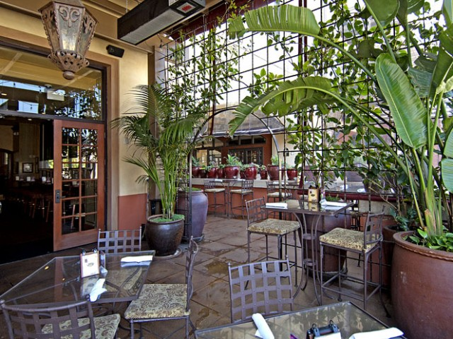 Pasadena is perfect for al fresco dining