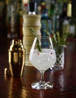 The Royal Street Gin and Tonic from Ruth's Chris Steak House