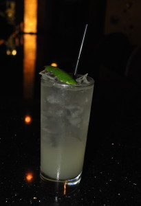 The Sparkly Mule from POP Champagne.