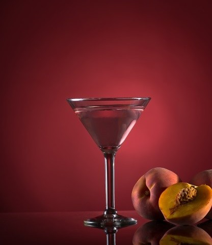 The Sparkling Peach Martini from Ruth's Chris Steak House