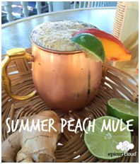 The Summer Peach Mule from Central Park