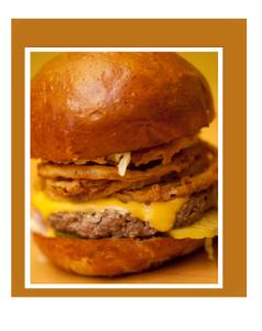 Rounds burger