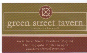 GreenStreet Tavernlogo